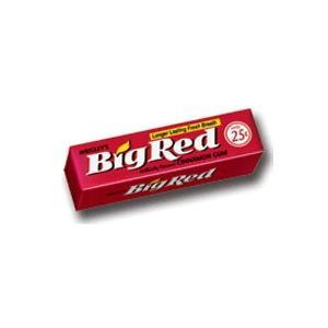 Big Red, Cynamonowa guma do żucia marki Wrigley - zdjęcie nr 1 - Bangla