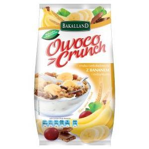 OwocoCrunch, różne smaki marki Bakalland - zdjęcie nr 1 - Bangla