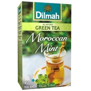 All Natural Green Tea, Moroccan Mint marki Dilmah - zdjęcie nr 1 - Bangla