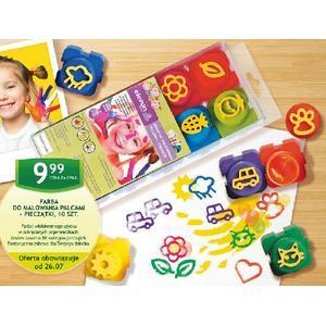 Farby do malowania palcami + Pieczątki marki Elefun - zdjęcie nr 1 - Bangla