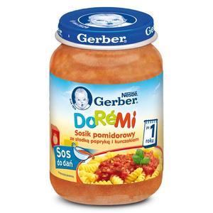 DoReMi, Sosik - różne smaki marki Dania gotowe Gerber - zdjęcie nr 1 - Bangla