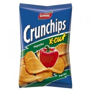 Crunchips X-cut, różne smaki marki Lorenz - zdjęcie nr 1 - Bangla