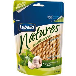 Natures, Paluszki Zakręcone, różne smaki marki Lubella - zdjęcie nr 1 - Bangla