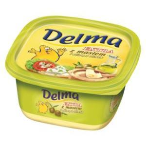 Delma Extra z masłem i oliwą z oliwek, margaryna marki Unilever - zdjęcie nr 1 - Bangla