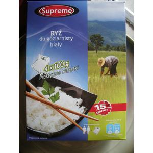 Supreme, ryż długoziarnisty biały marki Biedronka - zdjęcie nr 1 - Bangla