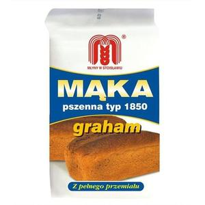 Mąka Pszenna Typ 1850 Graham marki Młyny w Stoisławiu - zdjęcie nr 1 - Bangla