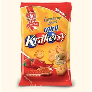 Mini Krakersy, różne smaki marki Lajkonik - zdjęcie nr 1 - Bangla