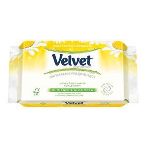 Velvet Naturalnie Pielęgnujący, Nawilżany Papier Toaletowy marki Kimberley-Clark - zdjęcie nr 1 - Bangla