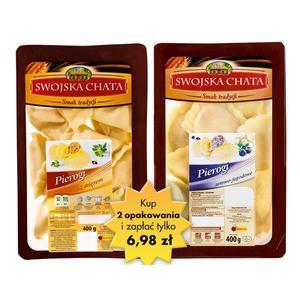 Swojska Chata, Pierogi, różne smaki marki Biedronka - zdjęcie nr 1 - Bangla