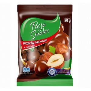 Pasja Smaku, Orzechy laskowe w czekoladzie marki Żabka-Freshmarket - zdjęcie nr 1 - Bangla