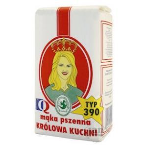 Mąka Królowa Kuchni typ 390 marki Polskie Zakłady Zbożowe PZZ Kraków - zdjęcie nr 1 - Bangla
