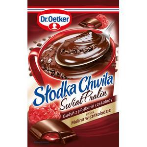 Świat Pralin, Słodka Chwila, budyń z płatkami czekolady, różne smaki marki Dr Oetker - zdjęcie nr 1 - Bangla