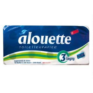 Alouette Papier toaletowy 3-warstwowy marki Rossmann - zdjęcie nr 1 - Bangla
