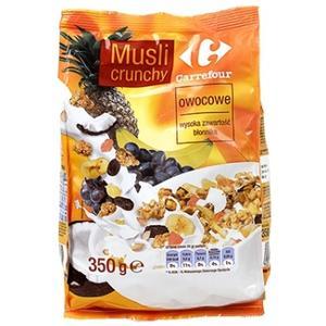 Musli Crunchy, różne smaki marki Carrefour - zdjęcie nr 1 - Bangla
