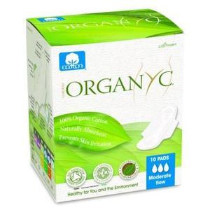 Podpaski na dzień ze skrzydełkami marki Organyc - zdjęcie nr 1 - Bangla