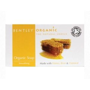 Organic Soap Smoothing, Wygładzające mydło z miodu, otrąb i płatków owsianych marki Bentley Organic - zdjęcie nr 1 - Bangla
