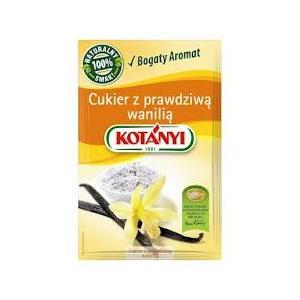 Cukier z prawdziwą wanilią marki Kotanyi - zdjęcie nr 1 - Bangla