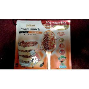 Yogo Crunch, Mus jogurtowy z mieszanką płatków zbożowych, różne smaki marki Mokate - zdjęcie nr 1 - Bangla