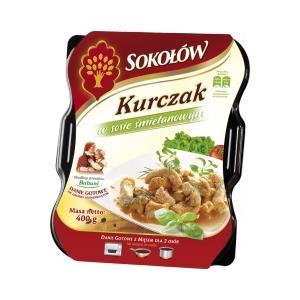 Kurczak w sosie śmietanowym marki Sokołów - zdjęcie nr 1 - Bangla