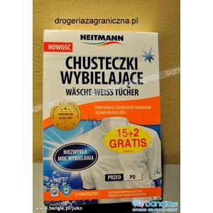 Chusteczki wybielające marki Heitmann - zdjęcie nr 1 - Bangla