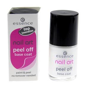 Nail Art, Peel off base coat, Baza ułatwiająca usuwanie lakieru marki Essence - zdjęcie nr 1 - Bangla