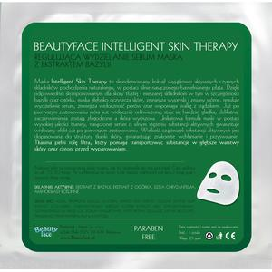 Intelligent Skin Therapy, Regulująca Wydzielanie Sebum Maska z Ekstraktem z Bazylii marki Beauty Face - zdjęcie nr 1 - Bangla