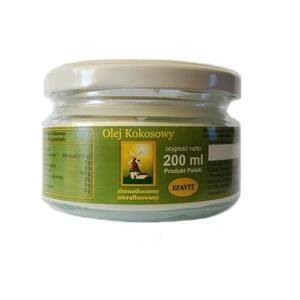 Olej kokosowy nierafinowany zimnotłoczony marki Efavit - zdjęcie nr 1 - Bangla