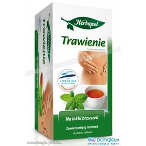 Trawienie, herbata ziołowa marki Herbapol Lublin - zdjęcie nr 1 - Bangla