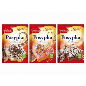 Posypka, różne smaki marki Delecta - zdjęcie nr 1 - Bangla
