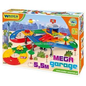 Kid Cars 3D Mega garaż z drogą 5,5m marki Wader - zdjęcie nr 1 - Bangla