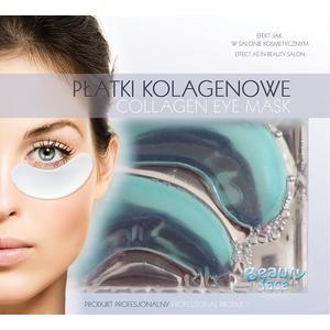 Rozjaśniająco odżywcze płatki kolagenowe pod oczy z ekstraktem z ogórka marki Beauty Face - zdjęcie nr 1 - Bangla