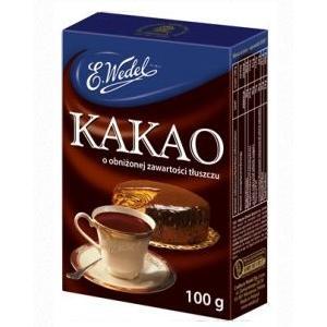 Kakao o obniżonej zawartości tłuszczu marki Wedel - zdjęcie nr 1 - Bangla