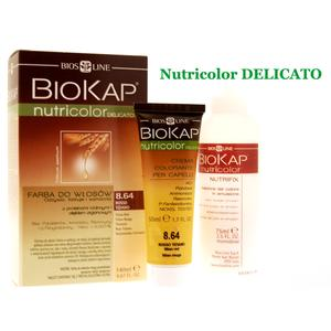 Nutricolor Seria Zielona Delicato, Farba do włosów marki Biokap - zdjęcie nr 1 - Bangla