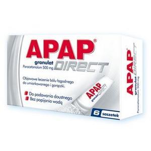 Apap Direct Granulat Saszetki marki USP Zdrowie - zdjęcie nr 1 - Bangla