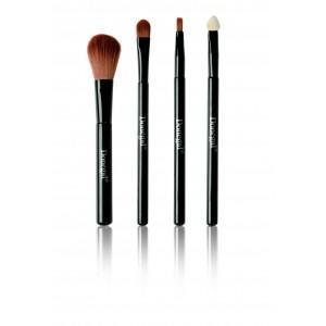 Deluxe Make Up Kit, Zestaw pędzelków do makijażu (4 szt.) marki Donegal - zdjęcie nr 1 - Bangla