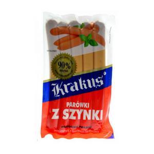 Parówki z szynki 90% mięsa marki Krakus - zdjęcie nr 1 - Bangla