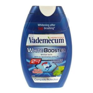 Vademecum 2 in 1 White Booster, Pasta do zębów + płyn do płukania jamy ustnej marki Henkel - zdjęcie nr 1 - Bangla