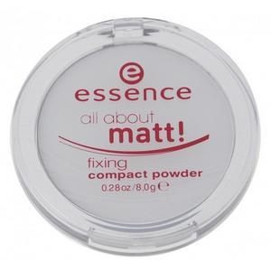 All about matt! Fixing Compact Powder, Transparentny puder matujący marki Essence - zdjęcie nr 1 - Bangla
