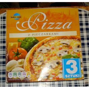 Pizza 3 sztuki, różne rodzaje marki Karex Food - zdjęcie nr 1 - Bangla