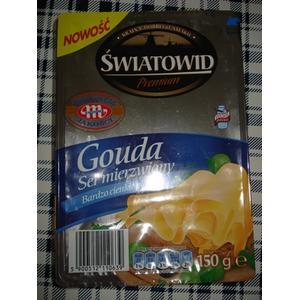 Światowid Gouda Premium, Ser mierzwiony, bardzo cienkie pastry marki Biedronka - zdjęcie nr 1 - Bangla