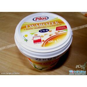 Pilos, Twarożek o smaku waniliowym z rodzynkami 5% tłuszczu marki Lidl - zdjęcie nr 1 - Bangla