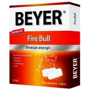 Fire Bull, Dodaje Energii, Funkcjonalna Guma do Żucia marki Beyer - zdjęcie nr 1 - Bangla