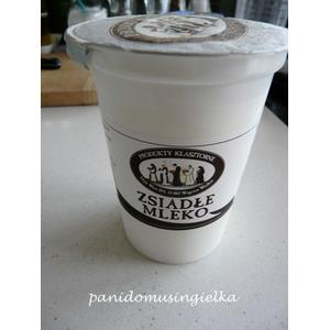 Zsiadłe mleko 1,5% tłuszczu marki Produkty Klasztorne - zdjęcie nr 1 - Bangla