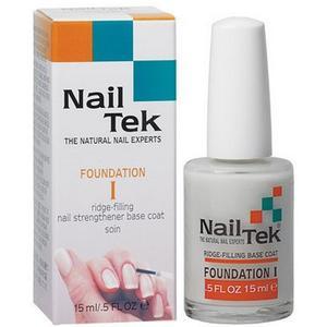 Foundation I Nail Strenghtener Base Coat, Odżywka podkładowa do pielęgnacji paznokci normalnych marki Nail Tek - zdjęcie nr 1 - Bangla