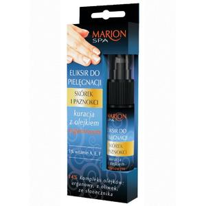 Spa, Eliksir do pielęgnacji skórek i paznokci, kuracja z olejkiem arganowym marki Marion - zdjęcie nr 1 - Bangla