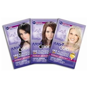 Mari Color, Farba do włosów w podwójnej saszetce marki Marion - zdjęcie nr 1 - Bangla
