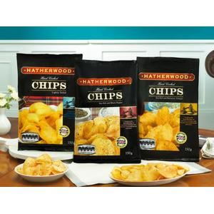 HATHERWOOD Hand Cooked Chips różne smaki marki Lidl - zdjęcie nr 1 - Bangla