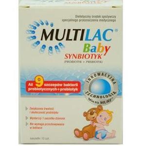 Multilac Baby Synbiotyk marki Genexo - zdjęcie nr 1 - Bangla