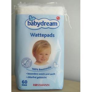 Babydream Wattepads, Płatki kosmetyczne dla dzieci marki Rossmann - zdjęcie nr 1 - Bangla