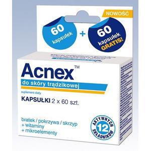 Acnex Kapsułki do skóry trądzikowej marki Farmina - zdjęcie nr 1 - Bangla